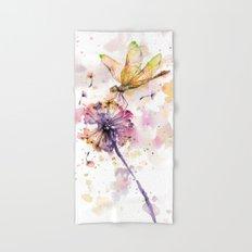 Dragonfly & Dandelion Dance Hand & Bath Towel
