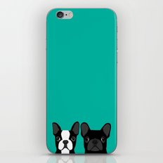 Boston Terrier And Frenc… iPhone & iPod Skin
