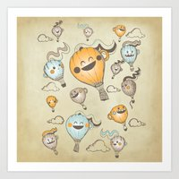 Around The World In Coff… Art Print