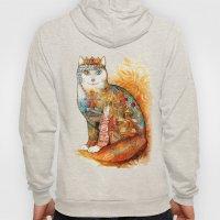 Armenia Cat - watercolor Hoody