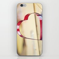 Take my heart, leave your heart iPhone & iPod Skin