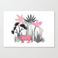 Mini Jungle  Canvas Print