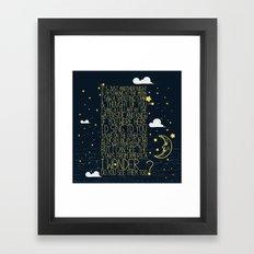 All Of The Stars  Framed Art Print