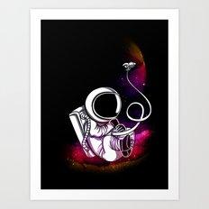 Spaceborne! Art Print
