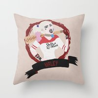 Harley Quinn, Suicide Sq… Throw Pillow