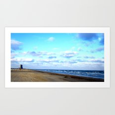 Beaches for Miles Art Print