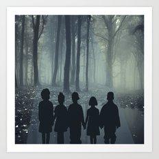 Strange Forest Art Print