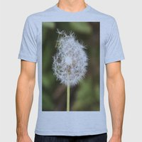 A weed. Mens Fitted Tee Athletic Blue SMALL