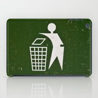 Trash - Put here please! iPad Case