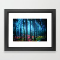 Magicwood #Night Framed Art Print