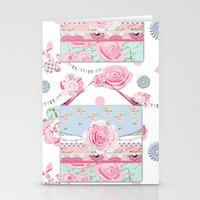 My Shabby Chic Purse Cel… Stationery Cards