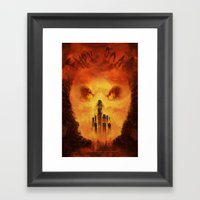 Immortan's Land Framed Art Print