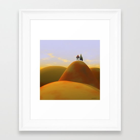 Toscana Two (part of diptych) Framed Art Print