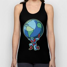 The Weight of the World Unisex Tank Top