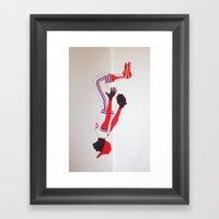 The Oz Framed Art Print