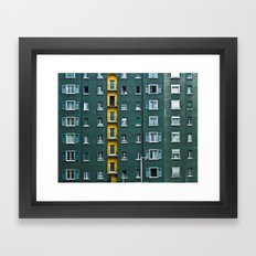 In and Out. Framed Art Print