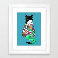 Catscape Framed Art Print