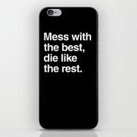 Hackers iPhone & iPod Skin