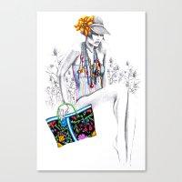 Tropic Relief Canvas Print
