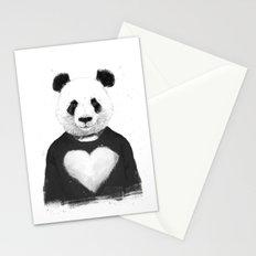 Lovely panda Stationery Cards