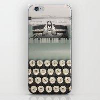 American Typewriter iPhone & iPod Skin
