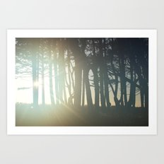 Sunrise Wishes Art Print