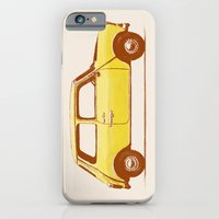 iPhone & iPod Case featuring Famous Car #1 - Mini Cooper by Speakerine / Florent Bodart
