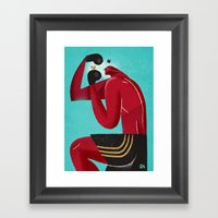 I Protect You Framed Art Print