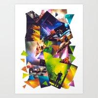 Collage Love: Music Conc… Art Print