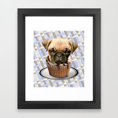 pupcake Framed Art Print