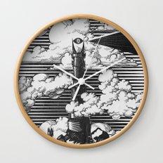 Lord of the Rings Mordor Tower Vintage Geek Art Wall Clock