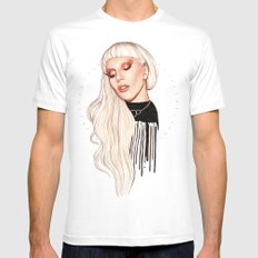 LG x AW Mens Fitted Tee SMALL White