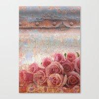 Rusty Spring Canvas Print