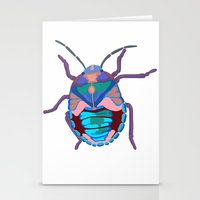 A Beautiful Beetle Stationery Cards