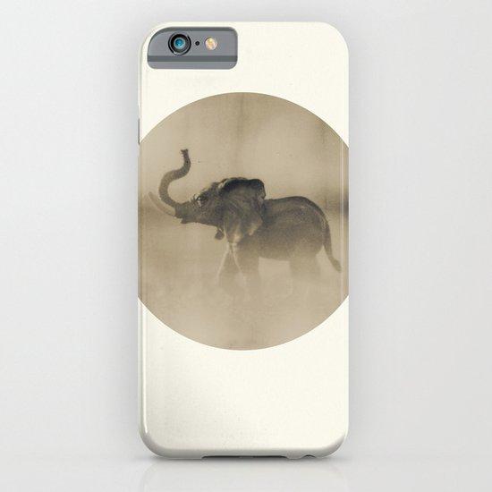 The elephant iPhone & iPod Case