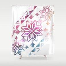 Neo-Ro Pattern Shower Curtain