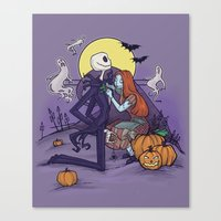 The Halloween Hero Canvas Print