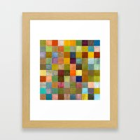 Soft Palette Rustic Wood Series lll Framed Art Print