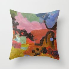ColourAbstract Throw Pillow