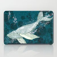 Flying Whale Underwater iPad Case
