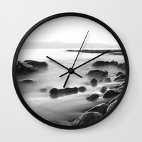 Whisper Rocks Wall Clock