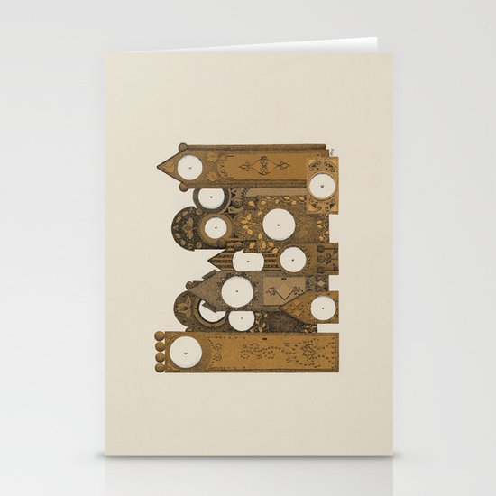 Points in time Stationery Card