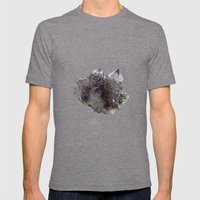 Mineral Mens Fitted Tee Tri-Grey SMALL