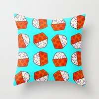 Cuppy Cake Throw Pillow