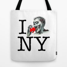 I Zombie Apocalypse New York Tote Bag