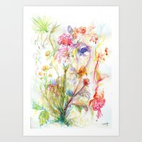 Floral Spree Art Print