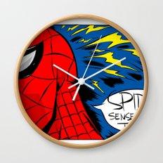 The Spidey Sense Wall Clock