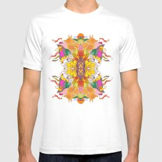 Free Psych and Mirrors - Antonio Feliz Mens Fitted Tee White SMALL