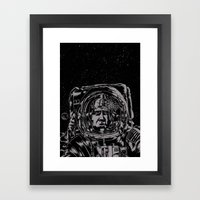Crack! Framed Art Print