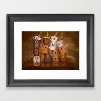 Coffeetime ! Framed Art Print